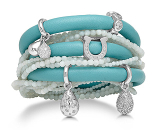 "STORY combines the ""charm of Pandora with elegant, sophisitacted styling for a premium charm bracelet collection."