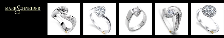 DESIGNER MARK SCHNEIDER specializes in contemporary diamond engagement rings. View his award winning jewelry designs that are handmade in California.