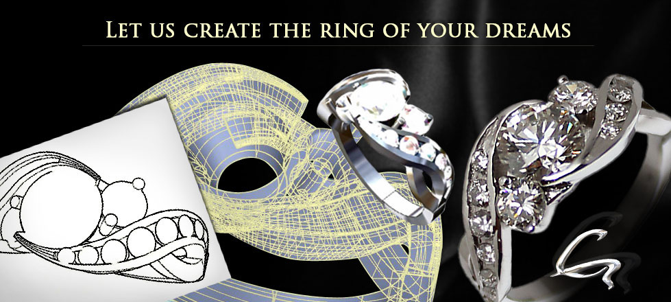 Custom Jewelry Design by Giamante Jewelry in Anchorage,AK