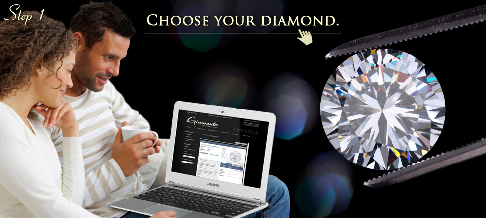 Find diamonds for your engagement ring at Giamante of Anchorage, AK.