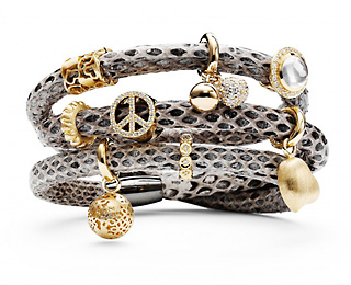 "Why settle for the ""charm"" of Pandora when you can be stunning in a premium, unique STORY bracelet by Kranz & Ziegler?"