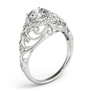 Graceful Engagement Jewelry Collection at Giamante of Anchorage, AK