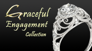 Graceful Engagement wedding bands, engagement rings and bridal jewelry