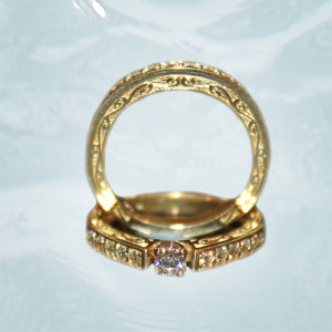 Custom Engagement Ring in Anchorage