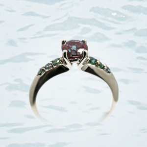 Diamond Ring Giamante Anchorage Alaska