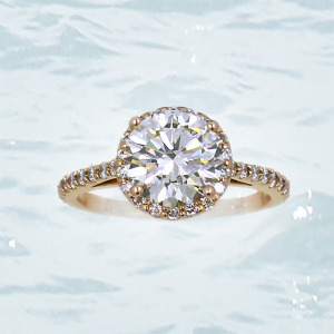 Oval Diamond Ring Anchorage Alaska