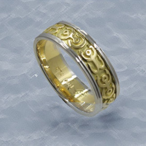 custom mens wedding ring anchorage