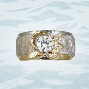 custom wedding bands Giamante of Anchorage