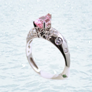 pink marquise cut diamond at giamante's of anchorage